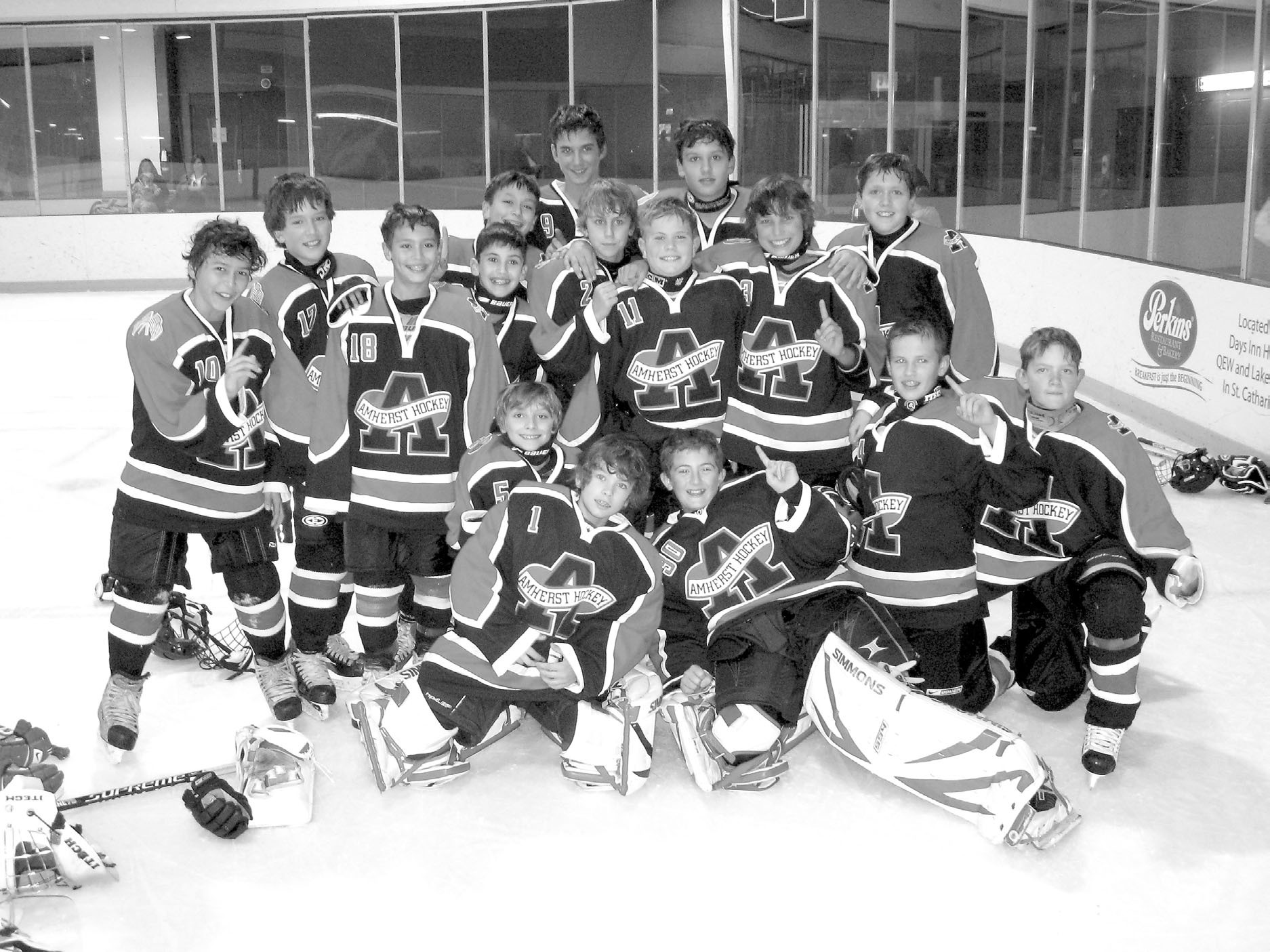 Amherst Pee Wee Major 'AAA' wins Friendship tourney