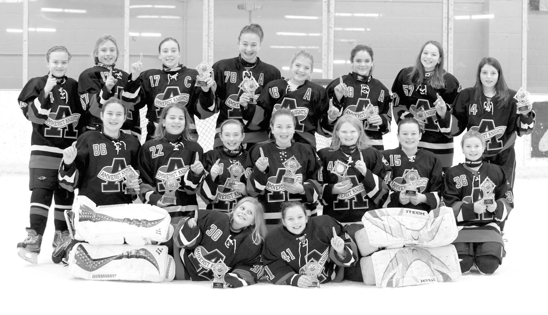 Amherst Knights 12U hockey wins Top Gun tournament | Amherst Bee